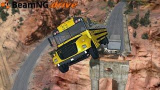 BeamNG.drive - MASSIVE BUS JUMP