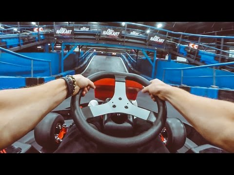 WORLDS LARGEST GO KART RACE TRACK