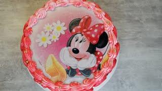 як зробити картинку на торті в домашніх умовах