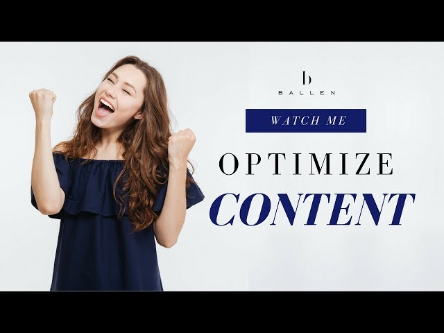 WordPress Blog | Watch Me Optimize Content [Step 4][1:06:24]