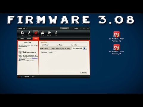 DJI Phantom 2 #46 - Firmware Update 3.08