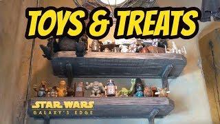 Toys & Treats from Star Wars Galaxy's Edge