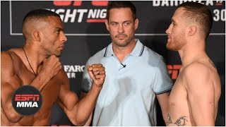 Ariel Helwani and Brett Okamoto break down UFC Fight Night in Philadelphia weigh-ins | ESPN MMA