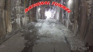 Fat Biking the Montour Trail, National Tunnel Frozen, 2-18-2013 (Revised)