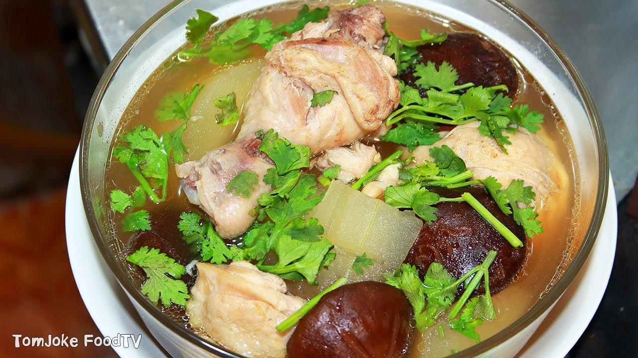 ไก่ตุ๋นฟักมะนาวดอง เมนูง่ายๆใครก็ทำได้ Winter Melon Soup