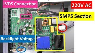 How to Repair Panasonic LED TV No Display Problem - PART 1