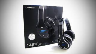 sms audio sync by 50 headphones unboxing