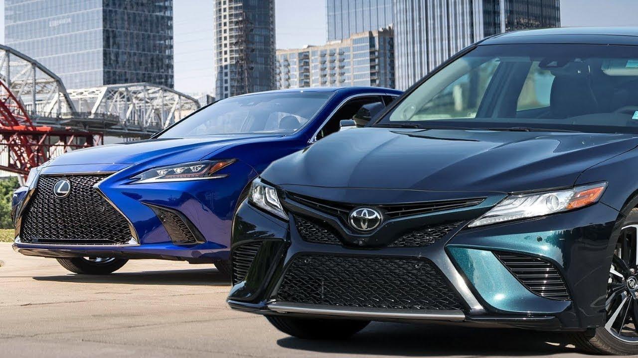 2019 Lexus Es 350 F Sport Vs 2018 Toyota Camry Xse