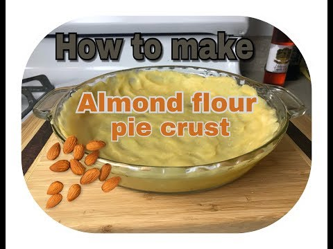 How to make almond pie crust ��