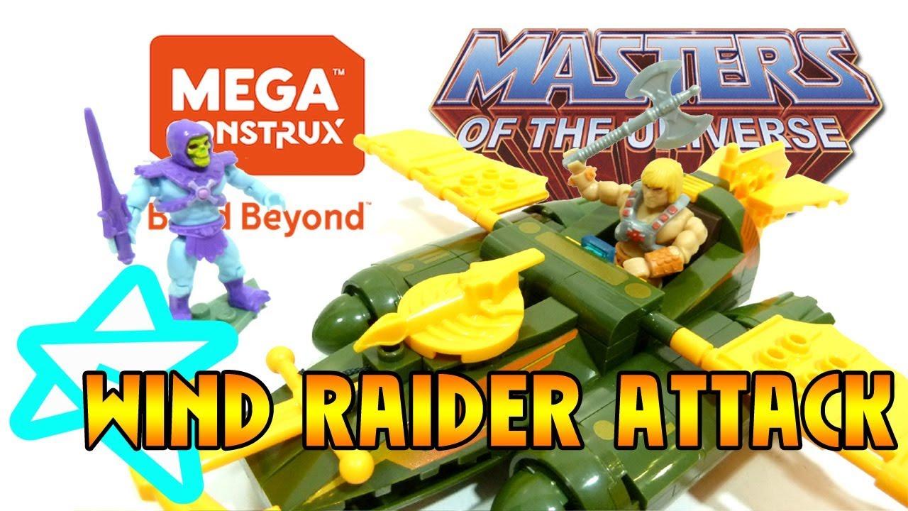 Masters of the Universe Mega Construx Pro Generator Wind Raider Attack PHAs
