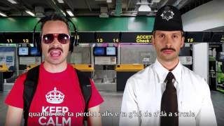 Repeat youtube video BERGAMENGLISH - THE AIRPORT