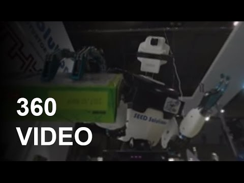 360 VIDEO: Robots at your service: Japan invests in service robot industry