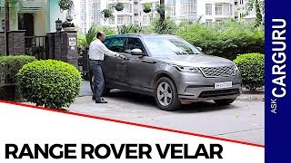 Range Rover Velar Review, Engine, Interior, Drive Review by Team GaadiFY.