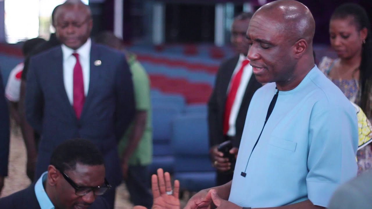 Download Pastor David Ibiyeomie's visit to COZA