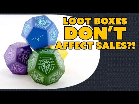Loot Boxes DONT Affect Sales?! - The Know Game News