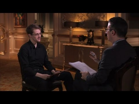 John Oliver Went to Russia for 48 Hours to Ask Edward Snowden about Hot Pockets
