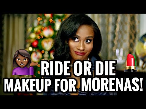 RIDE OR DIE MAKEUP PRODUCTS EVERY POC / MORENA SHOULD HAVE!