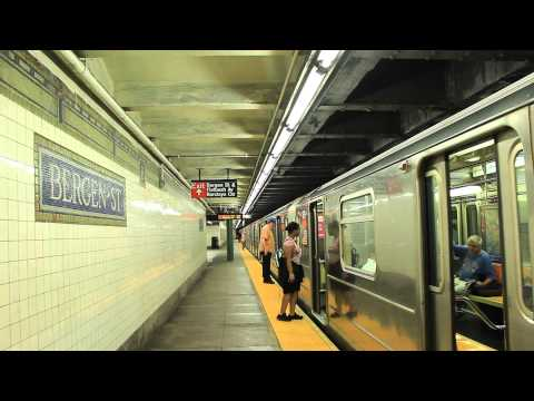 IRT Subway: Manhattan Bound R62 (3) Train at Bergen Street