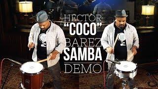 """MEINL Percussion - Hector """"Coco"""" Barez - Samba Demo"""