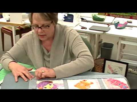 New Life from Old Quilts#2 /Build As You Go Quilting
