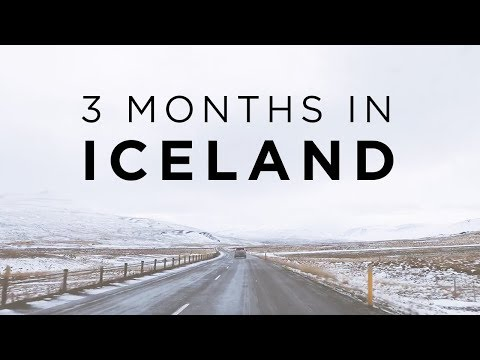 3 MONTHS IN ICELAND