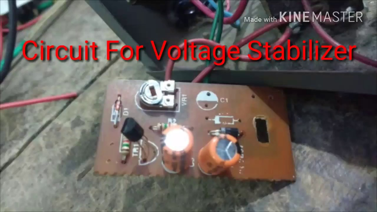 How To Make Circuit For Voltage Stabilizer Skill Development