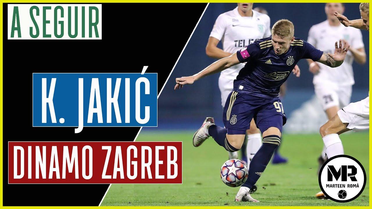 Kristijan Jakic Dinamo Zagreb Assists Long Passes Skills Youtube