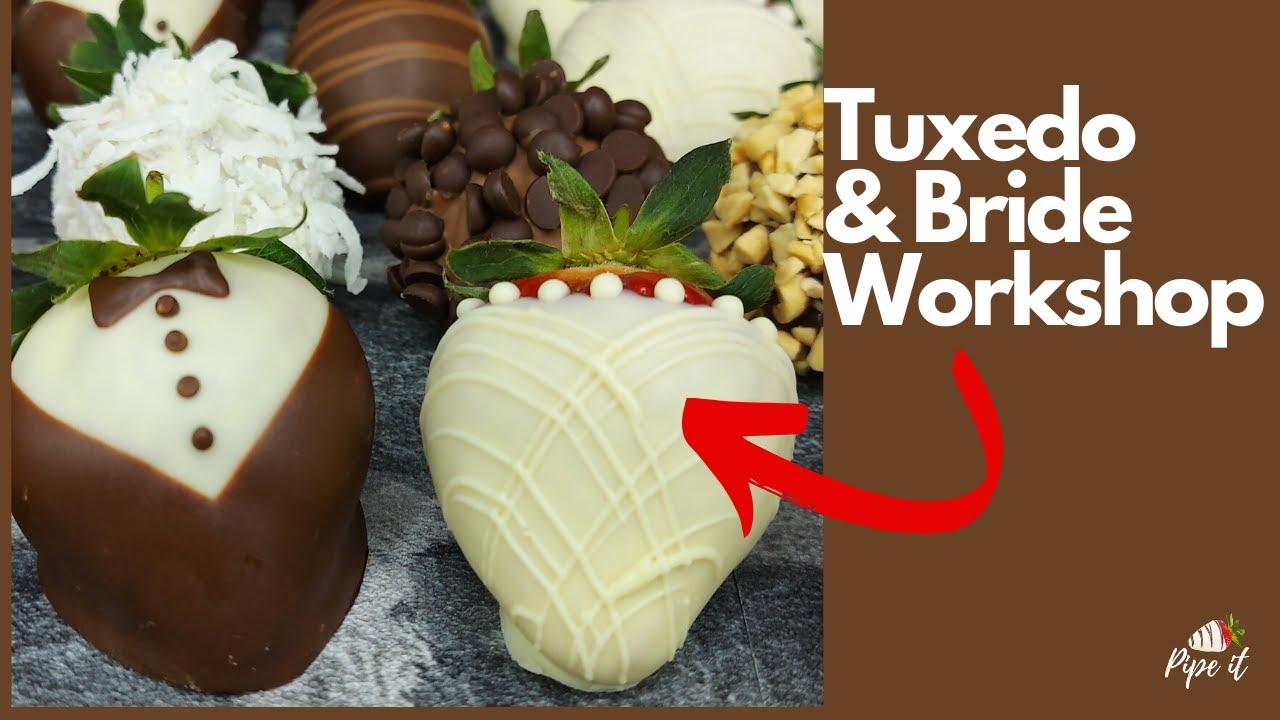 TUXEDO & BRIDE CHOCOLATE STRAWBERRIES WORKSHOP
