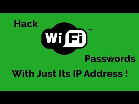 See WiFi Password Using IP Address On Android {OR} PC