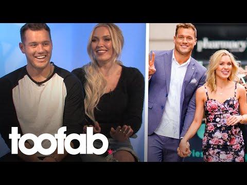 Colton Underwood & Cassie Randolph Talk Social Media Trolls, Annoying Habits | Toofab