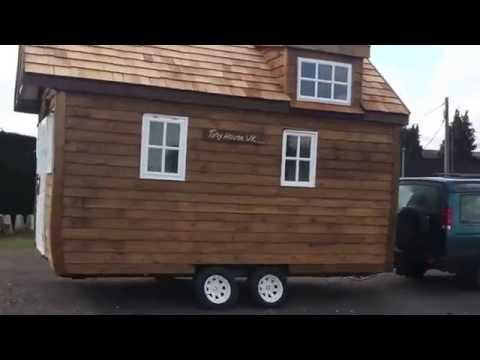 Tiny House UK mobile cabin off grid eco living powered by eKiss