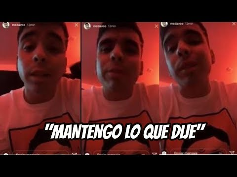 MC DAVO ACLARA LO QUE PASÓ CON HOTSPANISH | SOMOS RAP