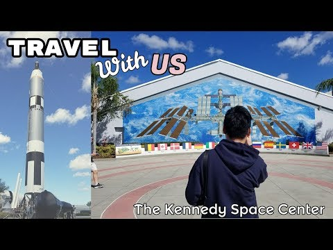Travel With Us Vlog #4: The Kennedy Space Center Part 1