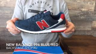 New Balance 996 Blue/Red