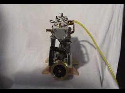 Marine Compound Model Steam Engine