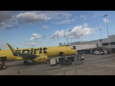 Spirit Airlines | A319 | Ft Lauderdale (FLL) - Tampa (TPA) | Trip Report