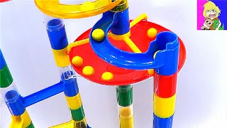 Learn Colors with a GIANT Marble Maze!