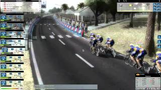 Pro Cycling Manager 2010 Gameplay: Vuelta stage [1/21] Team Time Trial