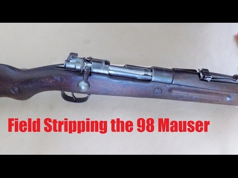 How To Disassemble the Mauser Bolt Action - YouTube