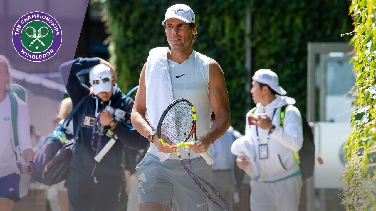 Rafael Nadal And Nick Kyrgios Prepare For Wimbledon 2019 Showdown