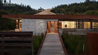 Contemporary Rural Home With Solar Screen