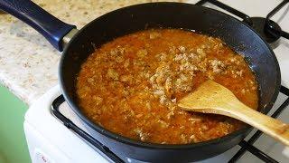 мясная Подливка из Фарша / Вкусный и Быстрый Ужин / Как Приготовить Подливку