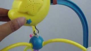 Baby crib toys music
