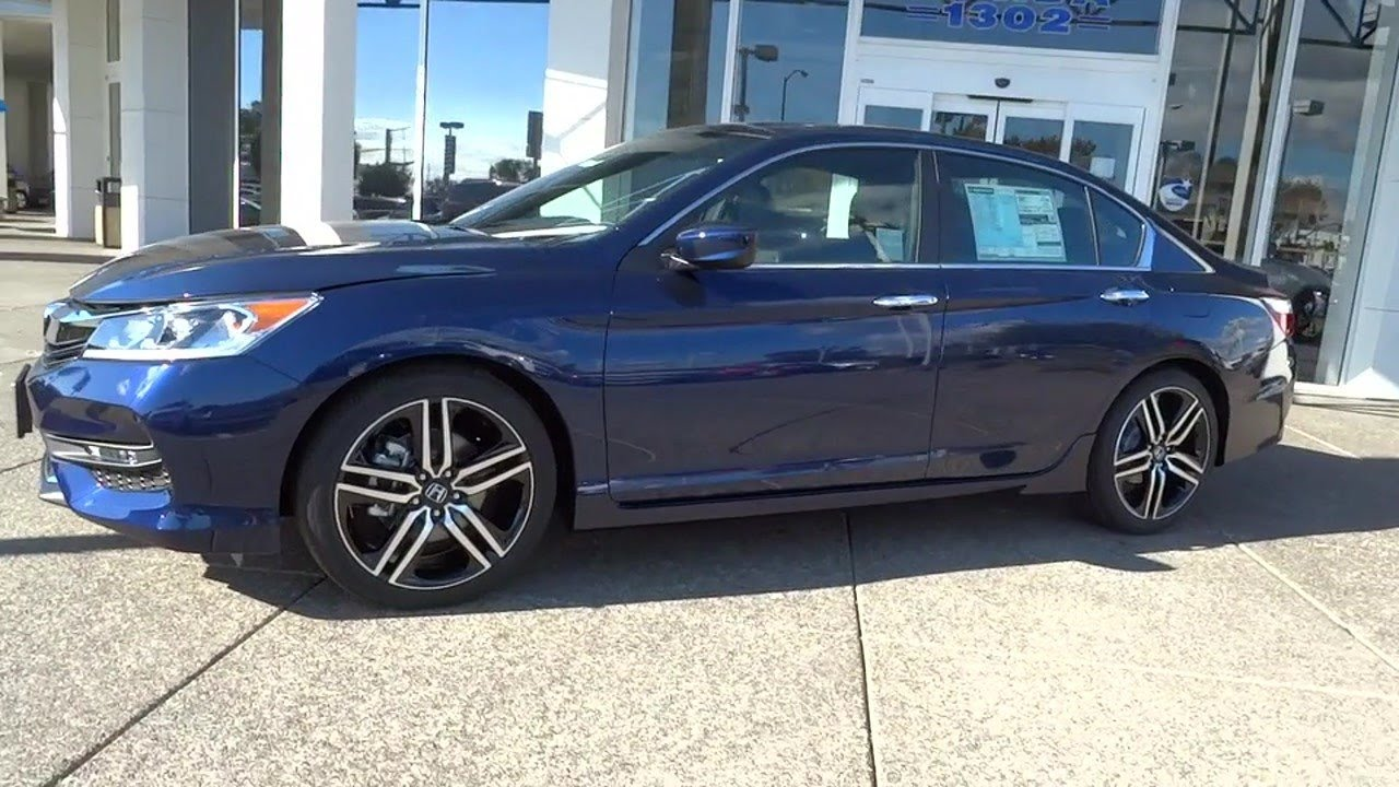 2016 Honda Accord Sport Sensing Sale Price New Oakland Alameda