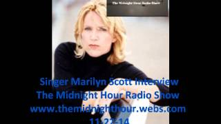 Marilyn Scott Singer (Mini) Interview The Midnight Hour Radio Show
