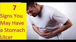 7 Signs You May Have a Stomach Ulcer