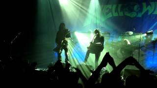 Helloween - Hold Me in Your Arms (live 31/3/13) HD