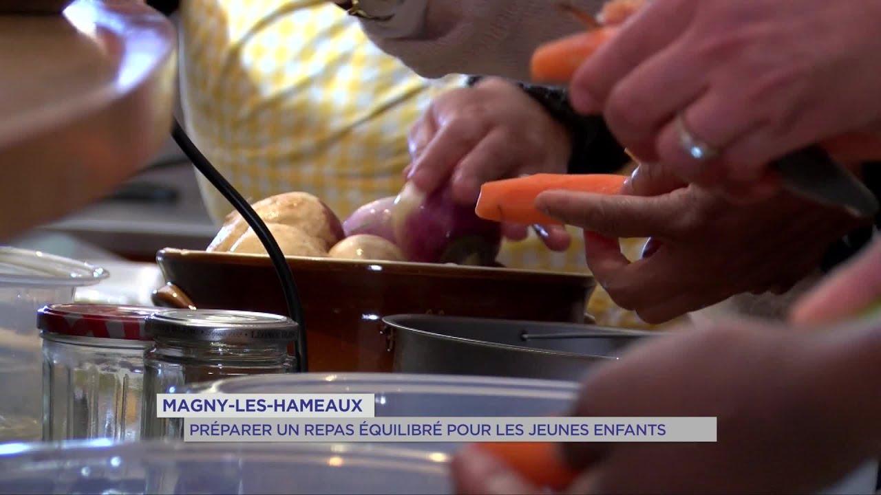 Yvelines | Magny-les-hameaux : préparer un repas équilibré pour les jeunes enfants