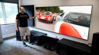 Obsessed Garage 7.1.4 Dolby Atmos Revel Home Theater Tour