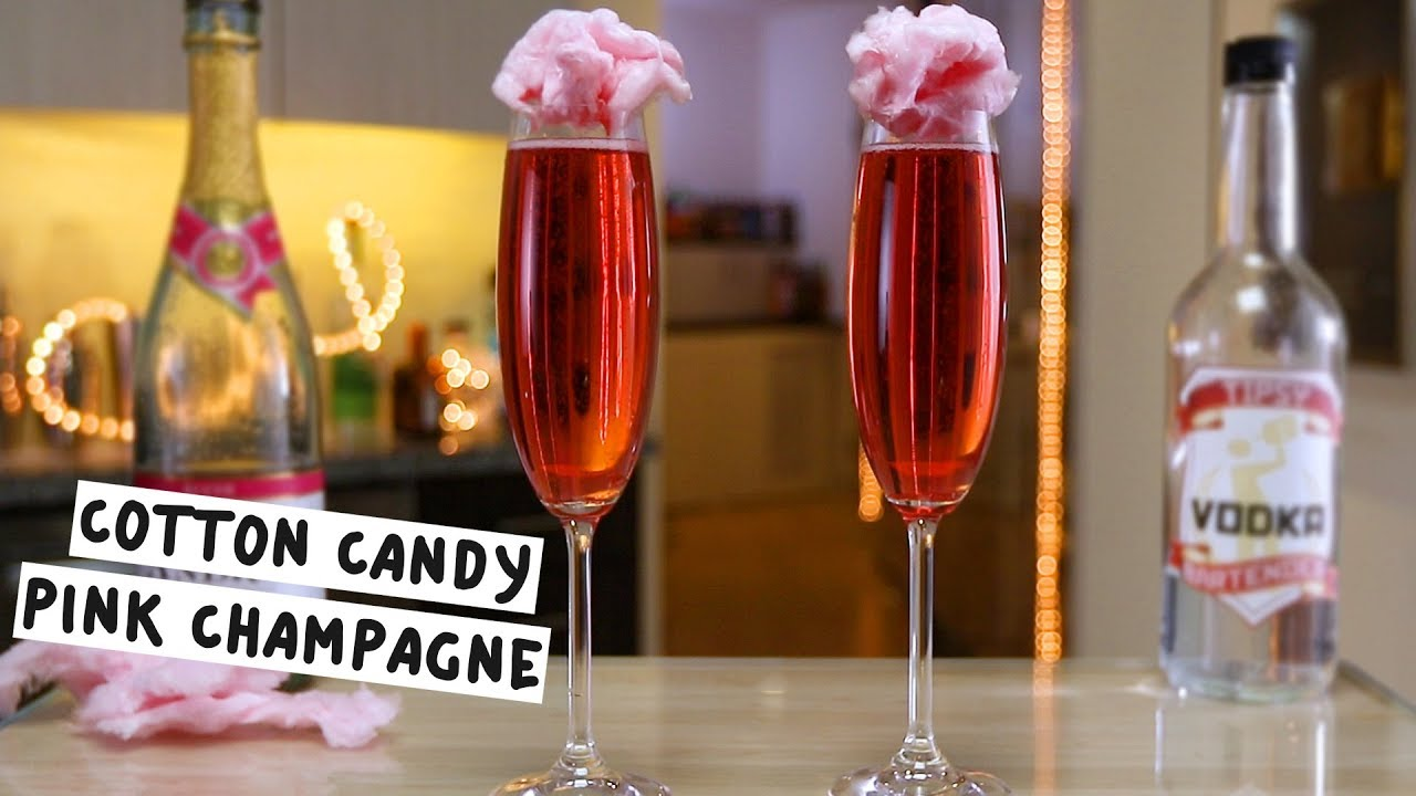 Cotton Candy Pink Champagne Youtube